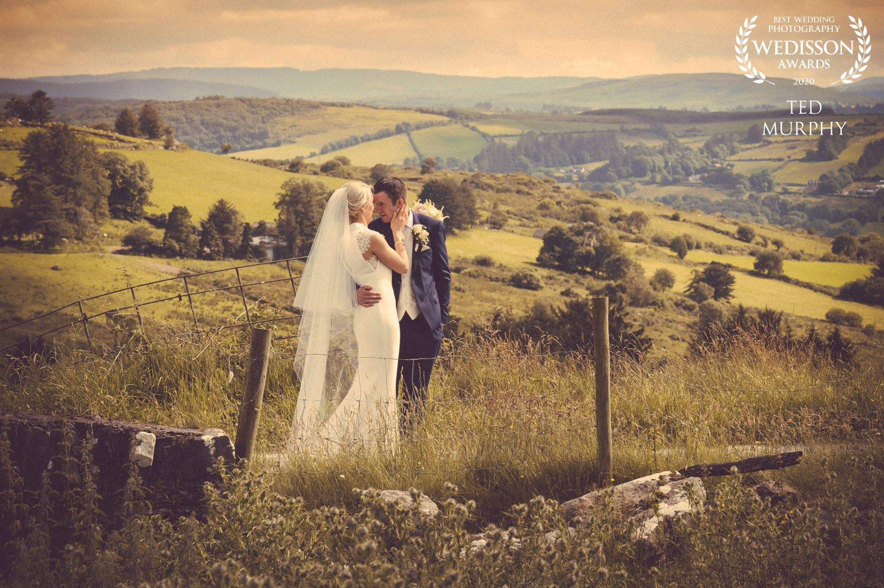 Couple wedding photoshoot by Ted Murphy