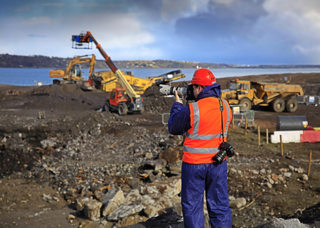 Construction Site Commercial Photography Ireland