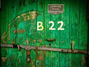 Port of Cork Bonded Warehouse B22 Door 30x40cm Print