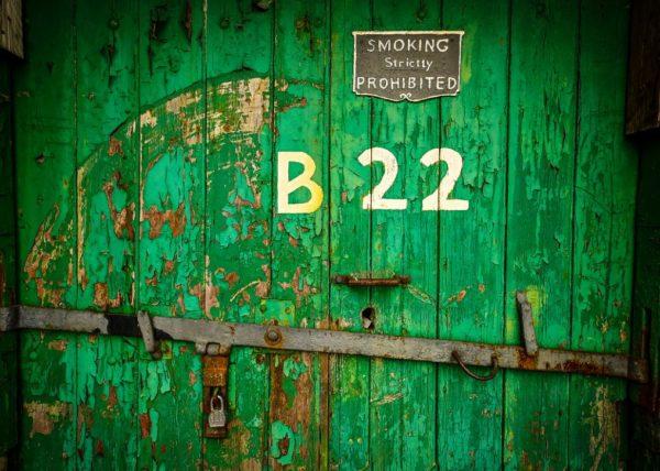 Port of Cork Bonded Warehouse B22 Door 30x40cm Print