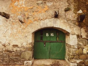 Port of Cork Bonded Warehouse B16 Door 30x40cm Print