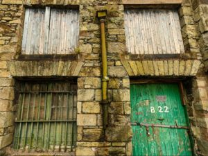 Port of Cork Bonded Warehouse B22 Windows 30x40cm Print